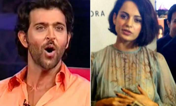 kangana ranaut gives unexpected reply over hrithik s