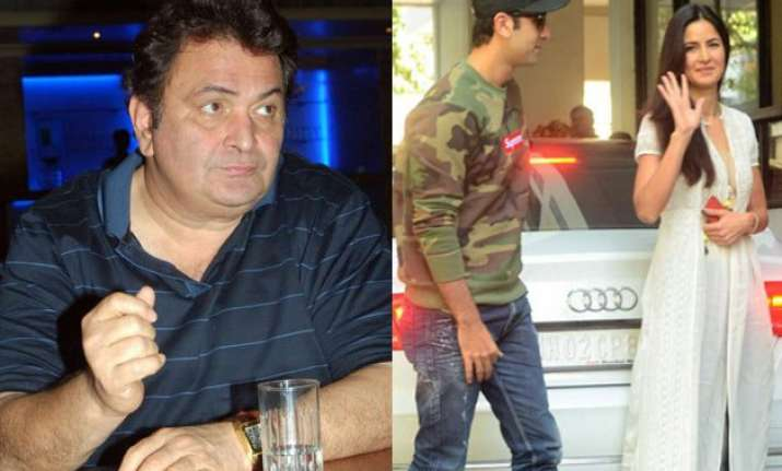 rishi kapoor s reaction to ranbir kapoor katrina kaif s