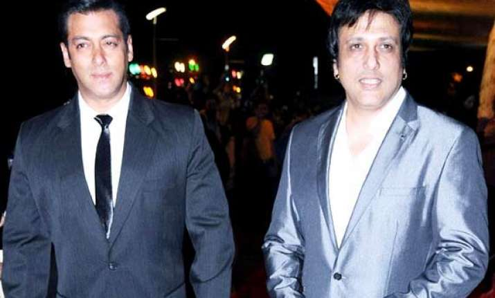 no arty film with salman says govinda