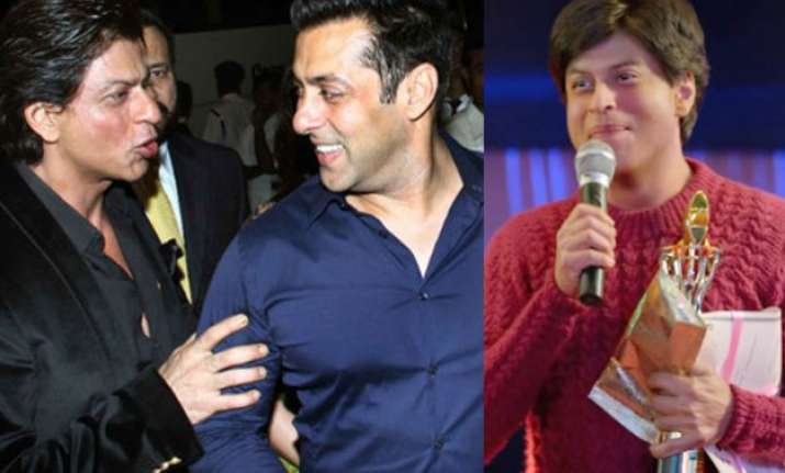 omg salman khan gives an unexpected response to shah rukh s
