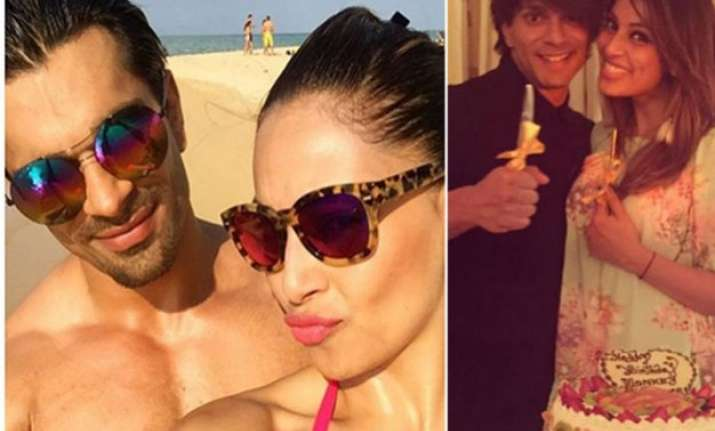 see pics karan singh grover celebrates 34th birthday with