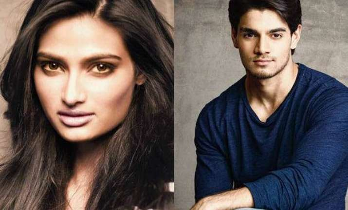 hero actors sooraj pancholi athiya shetty join twitter