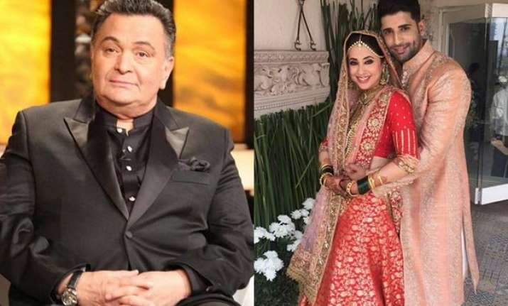 rishi kapoor congratulates his daughter sister lover urmila