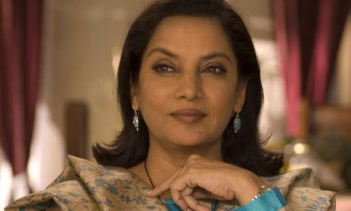 cannes is not for fashion but films shabana azmi