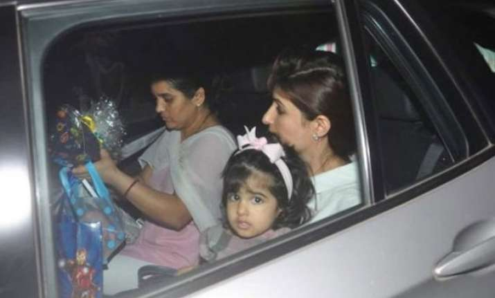 meet akshay kumar twinkle khanna s two year old daughter