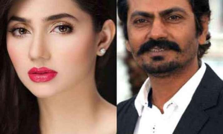 did mahira khan refuse to do a love scene with nawazuddin