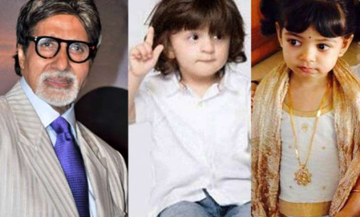 amitabh bachchan wishes to see aaradhya abram as onscreen