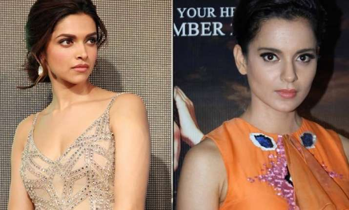 deepika padukone shoots back at kangana ranaut says fight