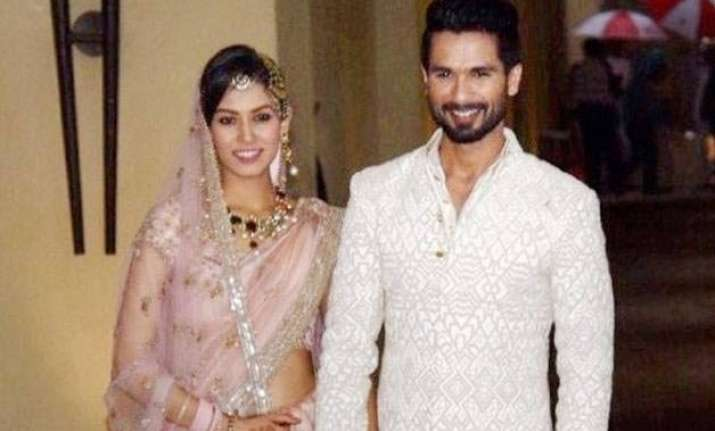 shahid kapoor feels getting hitched is beautiful
