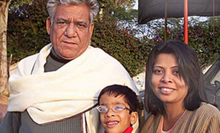 om puri s wife says shiney is an angel compared to him