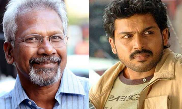 karthi may star in mani ratnam s next