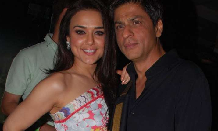 shah rukh khan only actor who can make me cry says preity