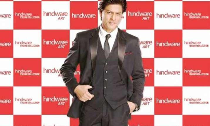 shah rukh khan to endorse luxury bathing brand hindware now