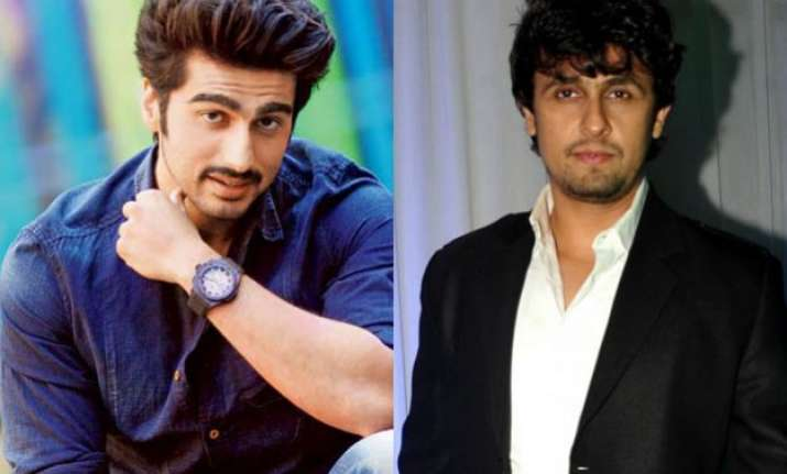 arjun kapoor wants sonu nigam to be his voice