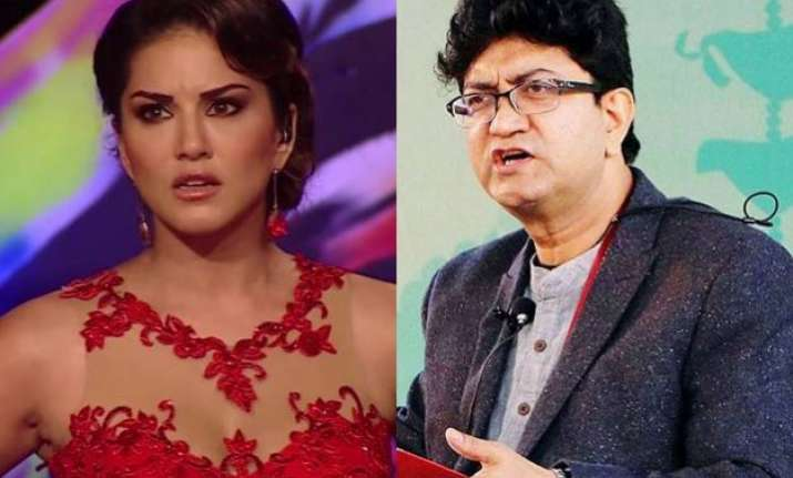 prasoon slams sunny she hits back saying who are you