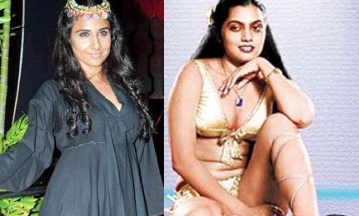 vidya balan to play silk smitha