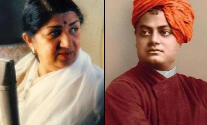 lata mangeshkar s tribute to swami vivekananda