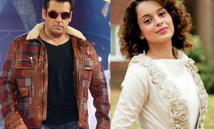 revealed why salman khan dialed kangana ranaut s number at