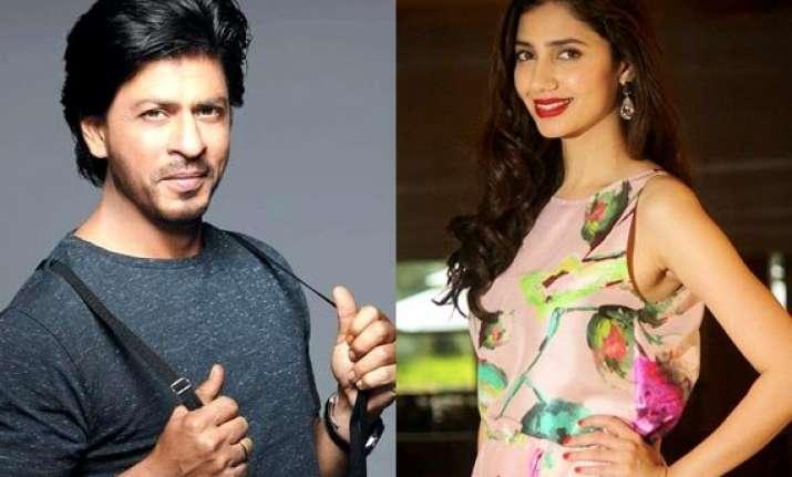 pakistani beauty mahira khan all set to romance shah rukh