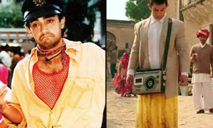 from rangeela to pk aamir khan s most intriguing looks see