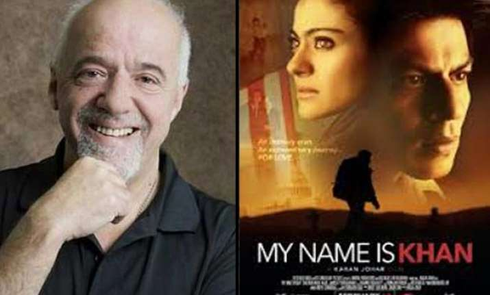 the alchemist writer paulo coelho lauds srk s my is khan  the alchemist writer paulo coelho lauds srk s my is