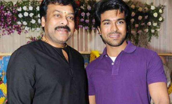 chiranjeevi to do 15 minute cameo in son ram charan s next