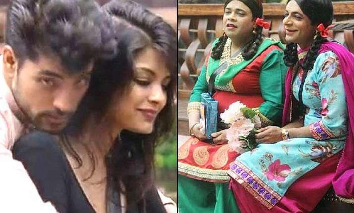 bigg boss 8 day 32 gautam sonali come close as gutthi palak