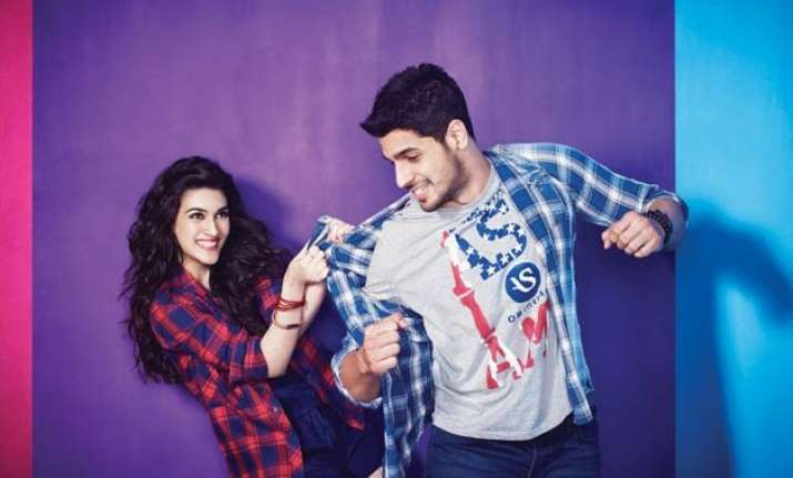 sidharth kriti team up for music anthem