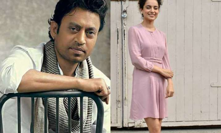 irrfan and kangana cast for movie on singer begum akhtar