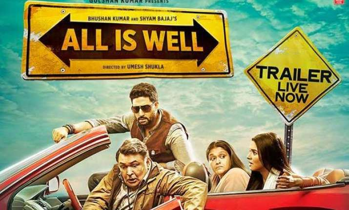 all is well trailer receives over 3 million views