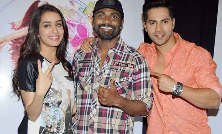 abcd 3 with varun dhawan and shraddha kapoor remo d souza