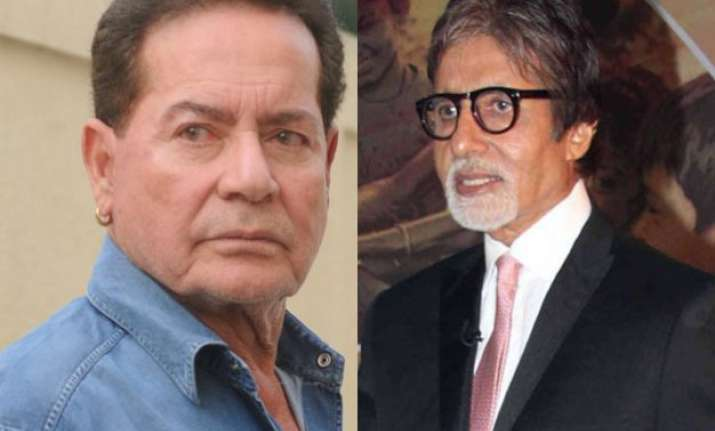 candid confession salim khan lashes out at big b for