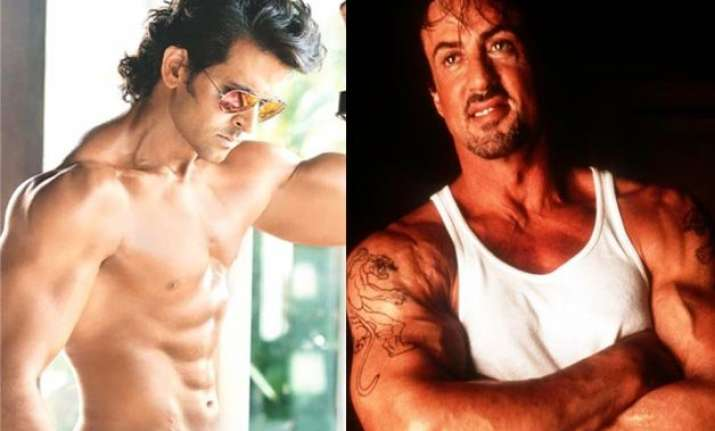 hrithik thanks sylvester stallone for inspiring him
