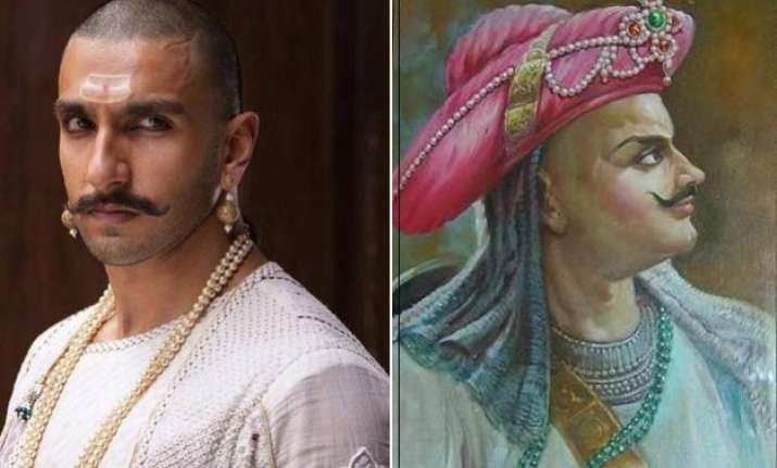 ranveer singh wishes 315th birthday to peshwa bajirao