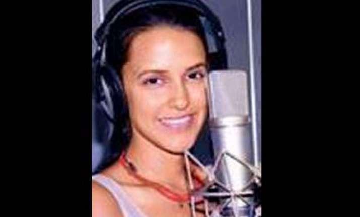 neha dhupia turns singer