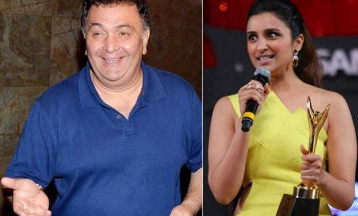 rishi mocks parineeti for winning an award just for losing