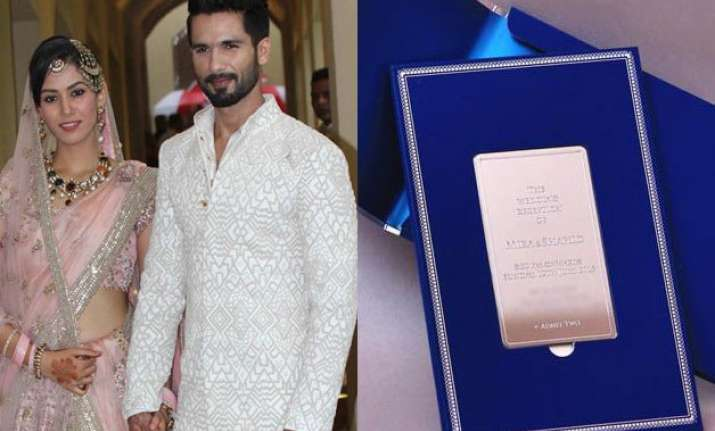 shahid mira spills royalty with a classy wedding reception