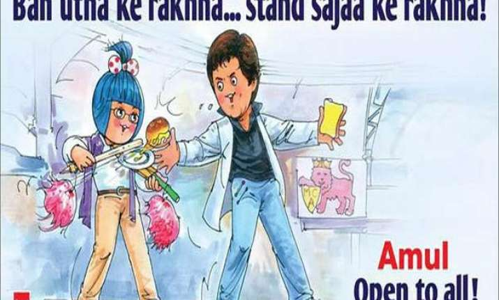 amul celebrates lifting of srk s wankhede stadium ban