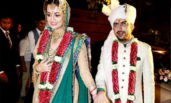 dia mirza sahil sangha want a baby girl first