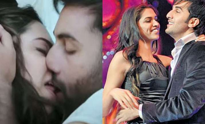 ranbir and deepika to indulge in steamy love making scenes