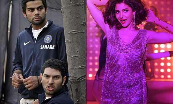 is virat kohli angry with yuvraj singh for calling anushka