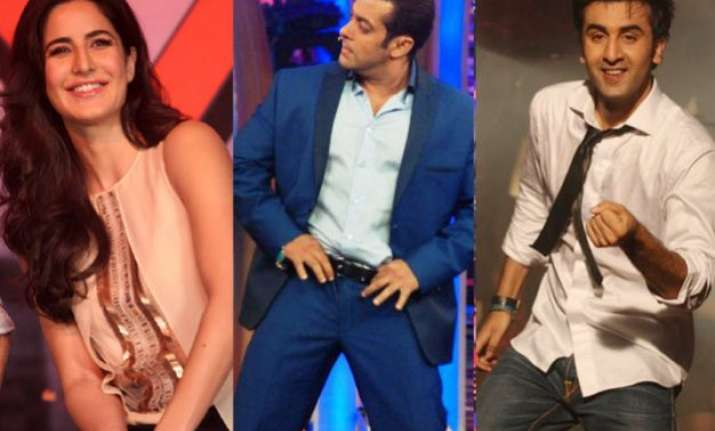 watch when katrina kaif s ex boyfriends salman khan and