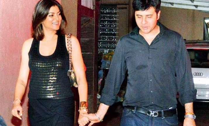 is ritik bhasin the new man in sushmita sen s life