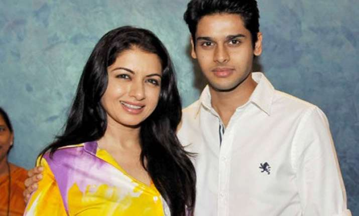 bhagyashree s son abhimanyu is getting trained to join films