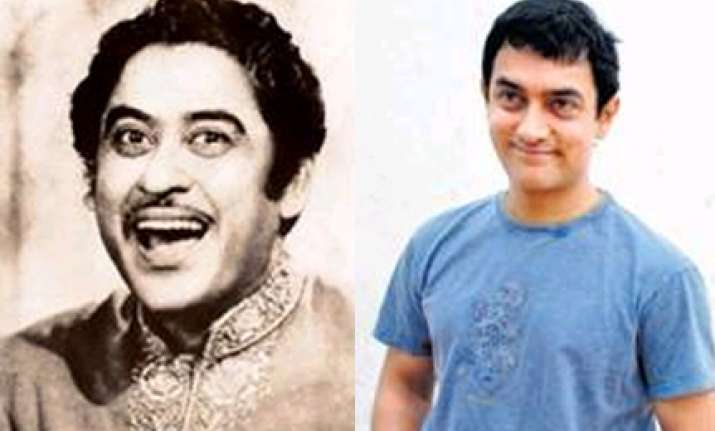 aamir khan to play kishore kumar