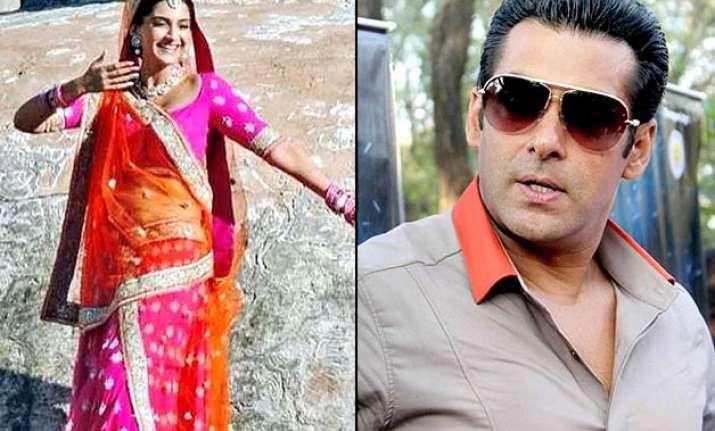 prdp salman khan s action goes hollywood way sonam kapoor s
