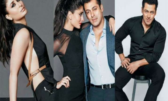 watch charming salman and hot kareena in filmfare photoshoot