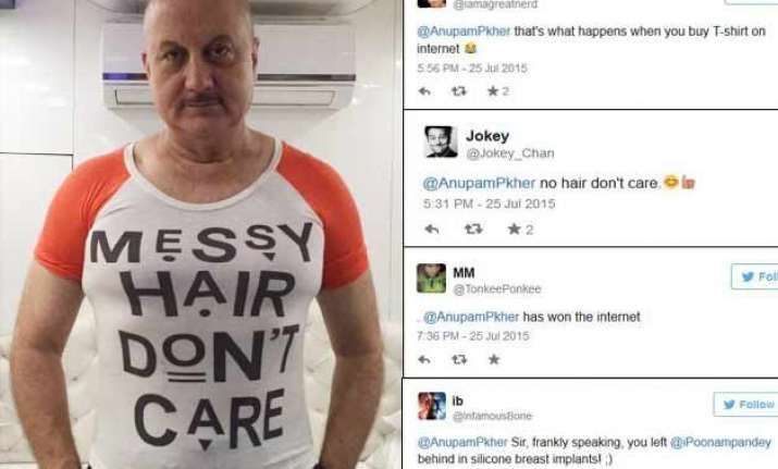 anupam kher posts funny pic gets trolled on twitter