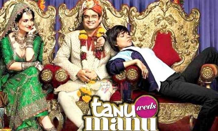 tanu weds manu returns year s first film to cross rs 150