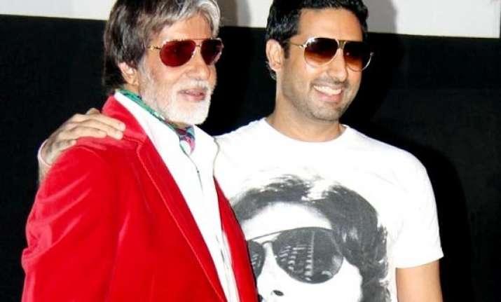 amitabh bachchan proud of son abhishek bachchan s fanbase